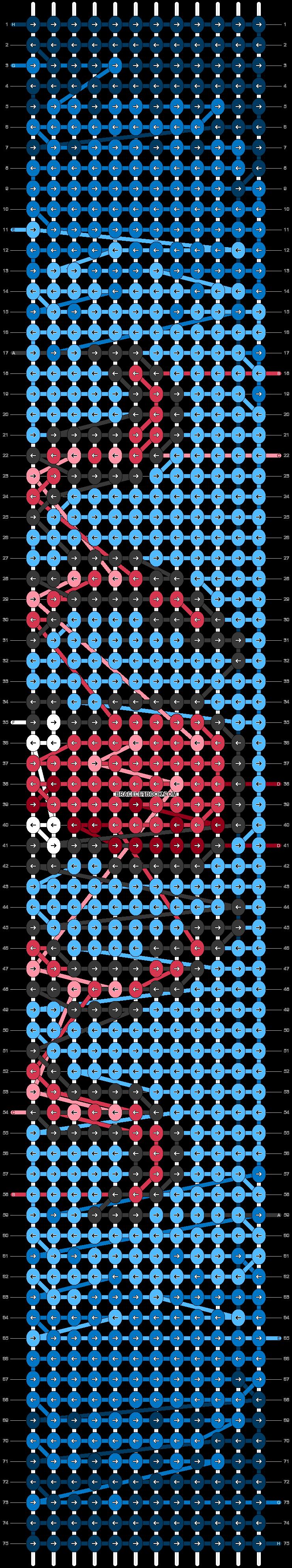 Alpha pattern #52008 pattern