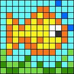 Alpha pattern #52016