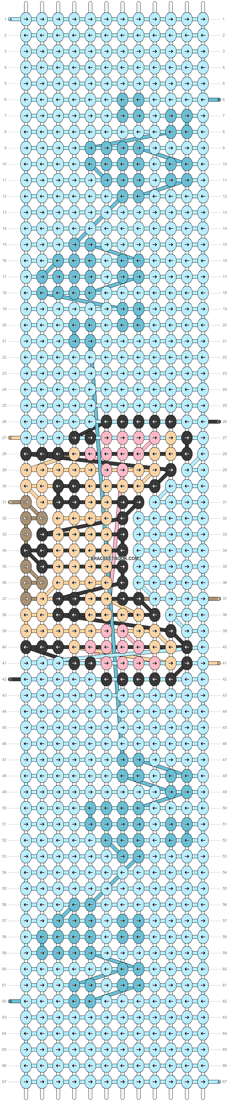Alpha pattern #52030 pattern