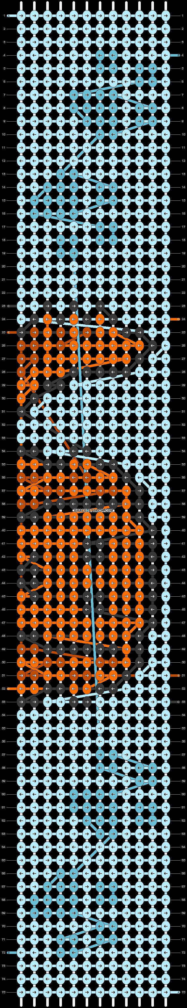Alpha pattern #52032 pattern