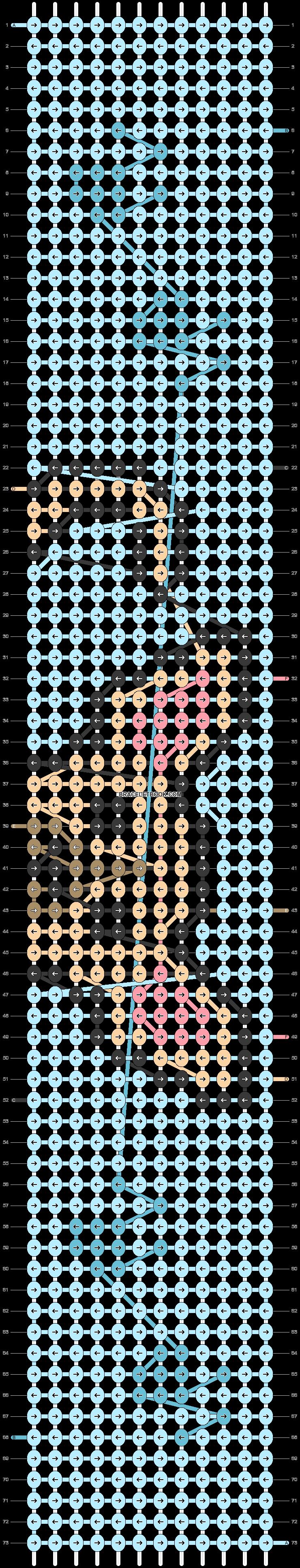 Alpha pattern #52034 pattern
