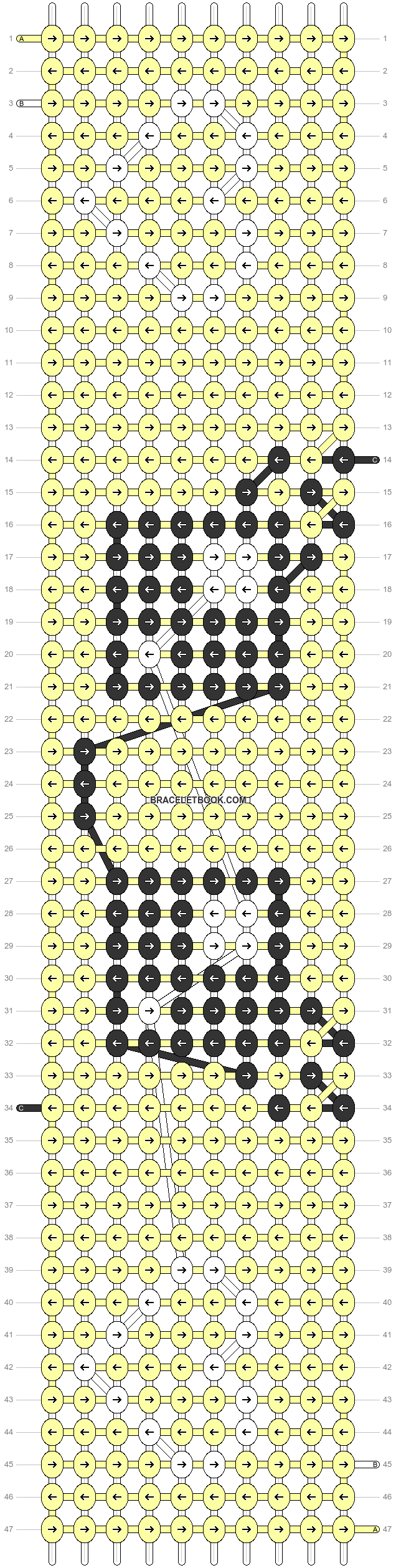 Alpha pattern #52070 pattern