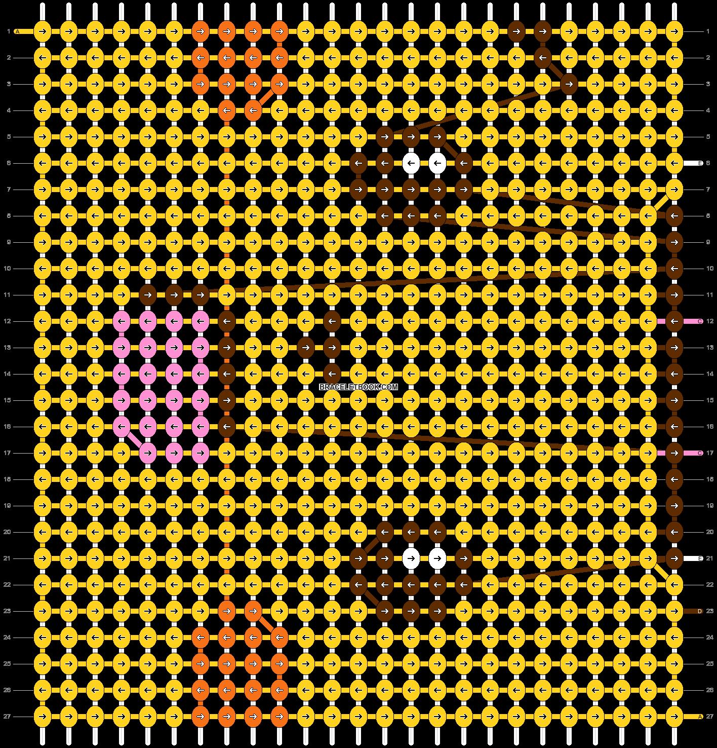 Alpha pattern #52071 pattern