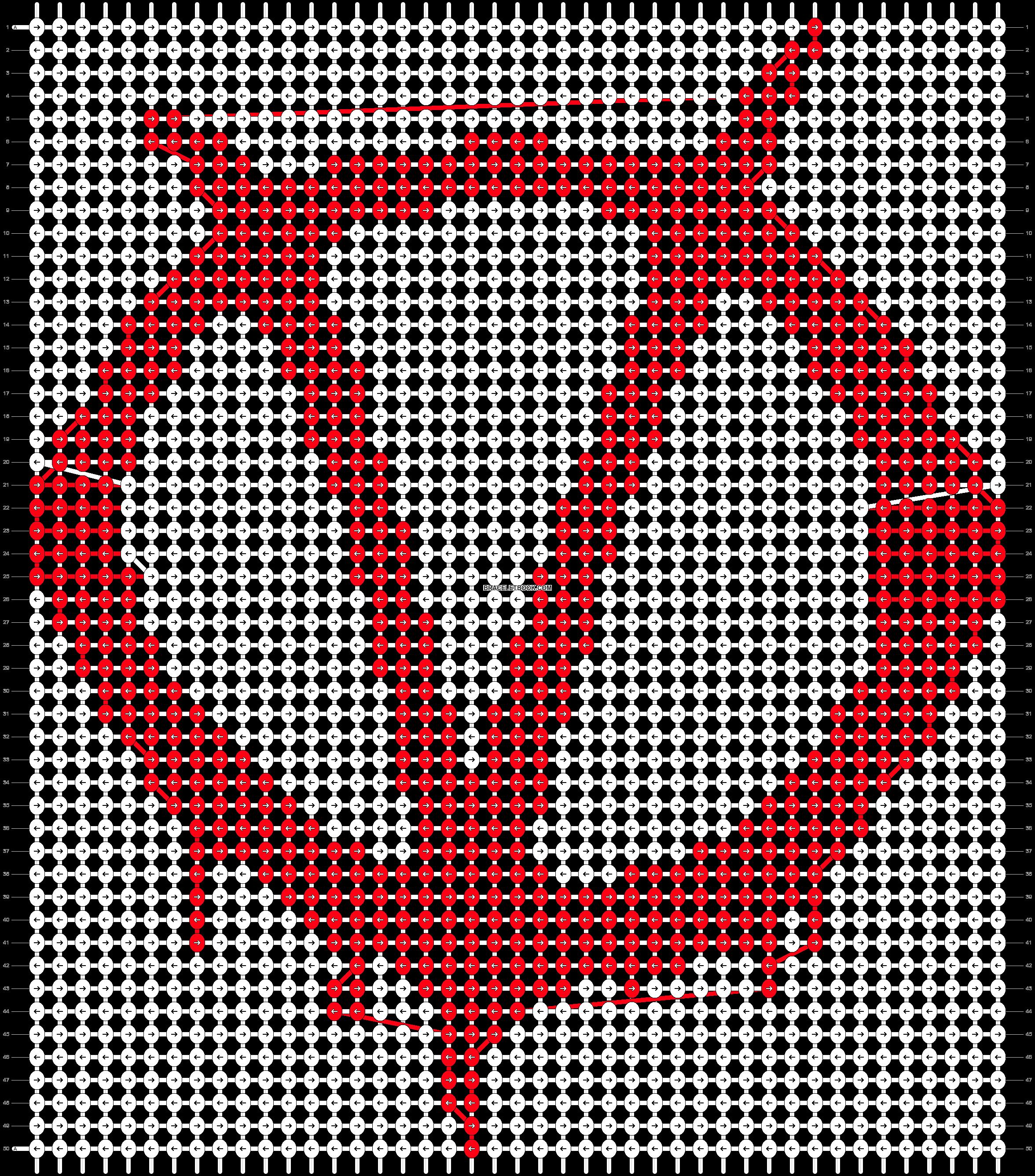 Alpha pattern #52074 pattern