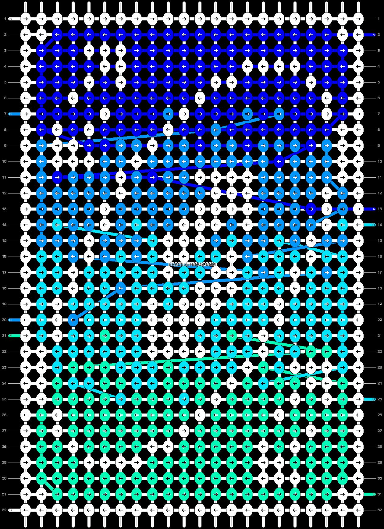 Alpha pattern #52086 pattern