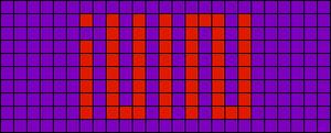 Alpha pattern #52090