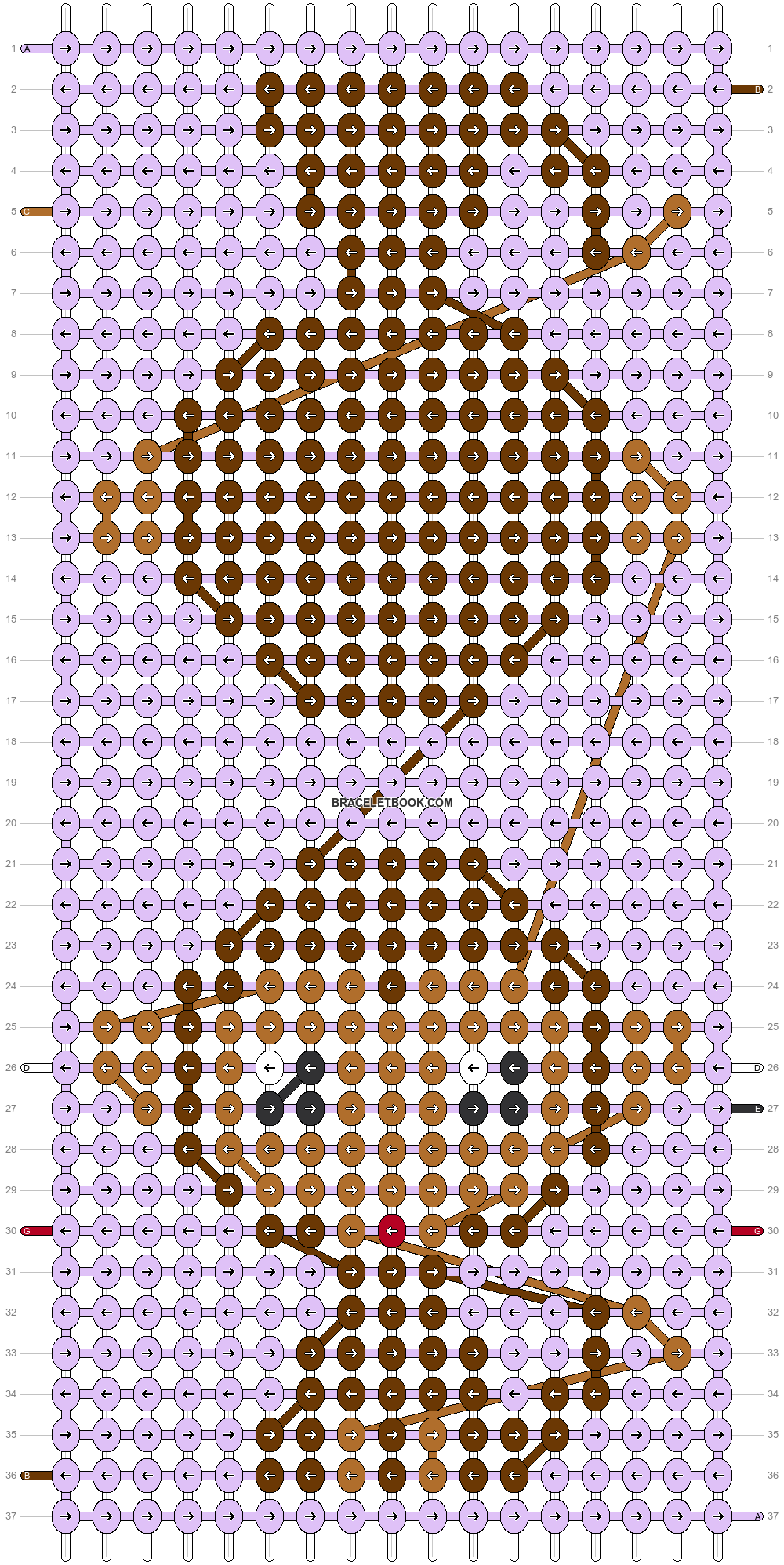 Alpha pattern #52095 pattern