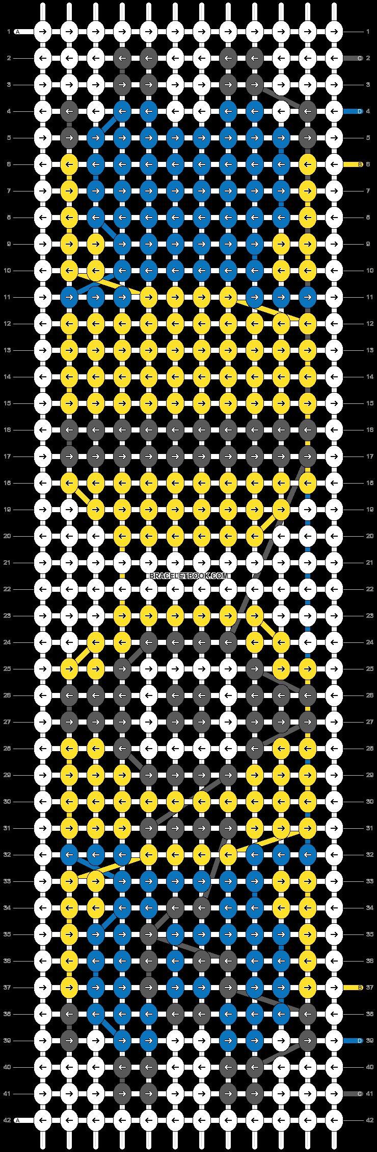Alpha pattern #52097 pattern