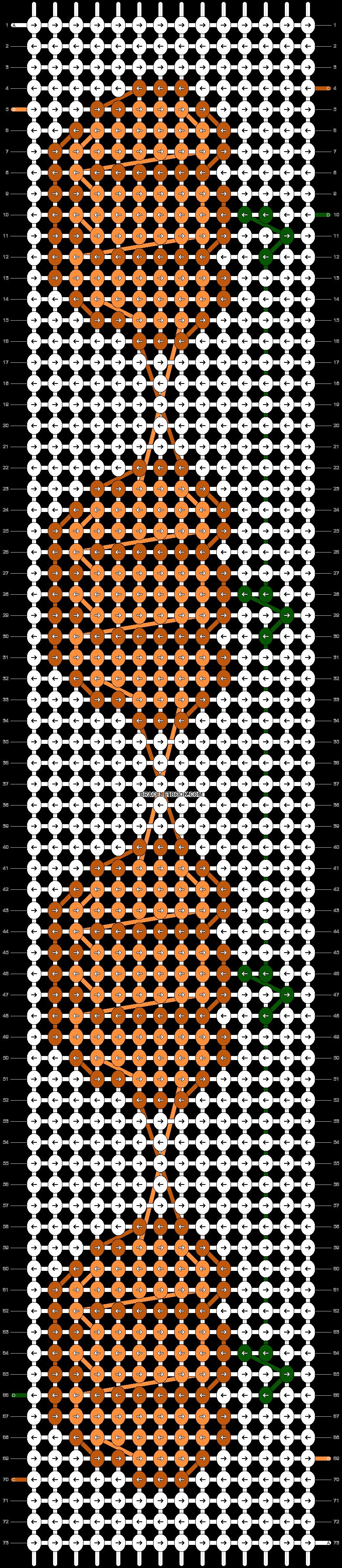 Alpha pattern #52104 pattern