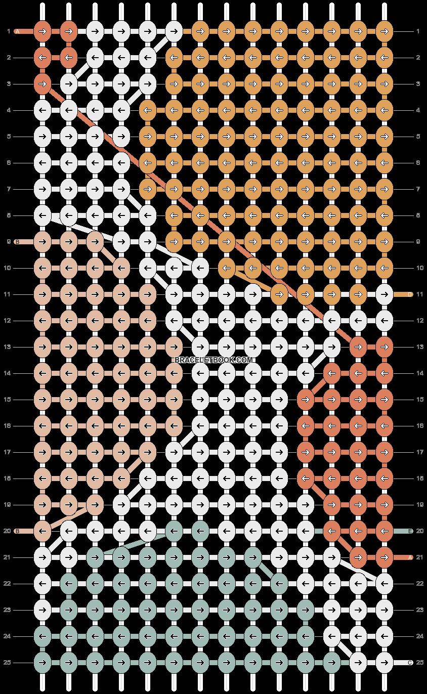 Alpha pattern #52108 pattern