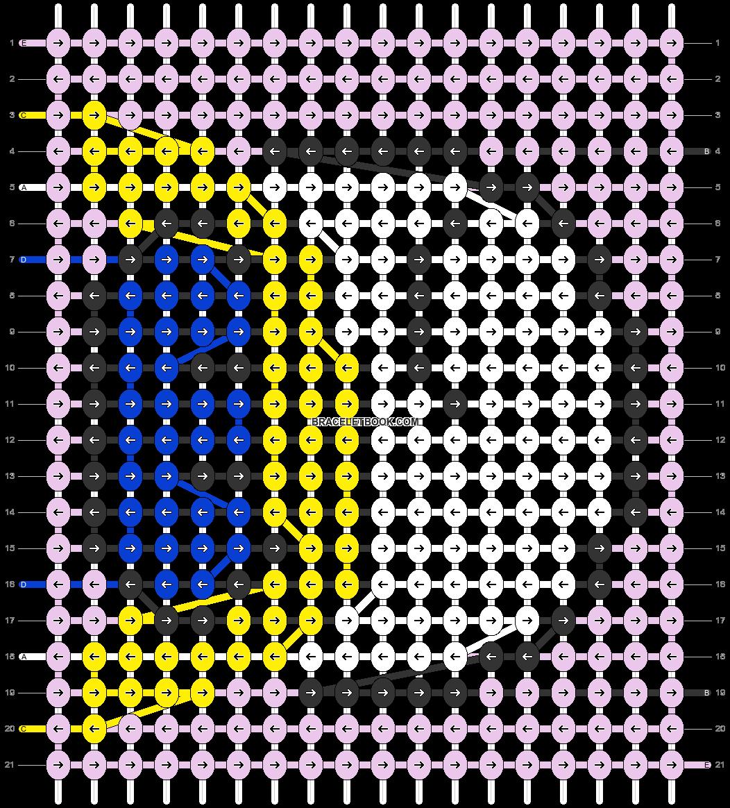 Alpha pattern #52140 pattern