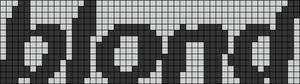 Alpha pattern #52236