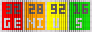 Alpha pattern #52245