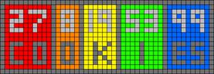 Alpha pattern #52246