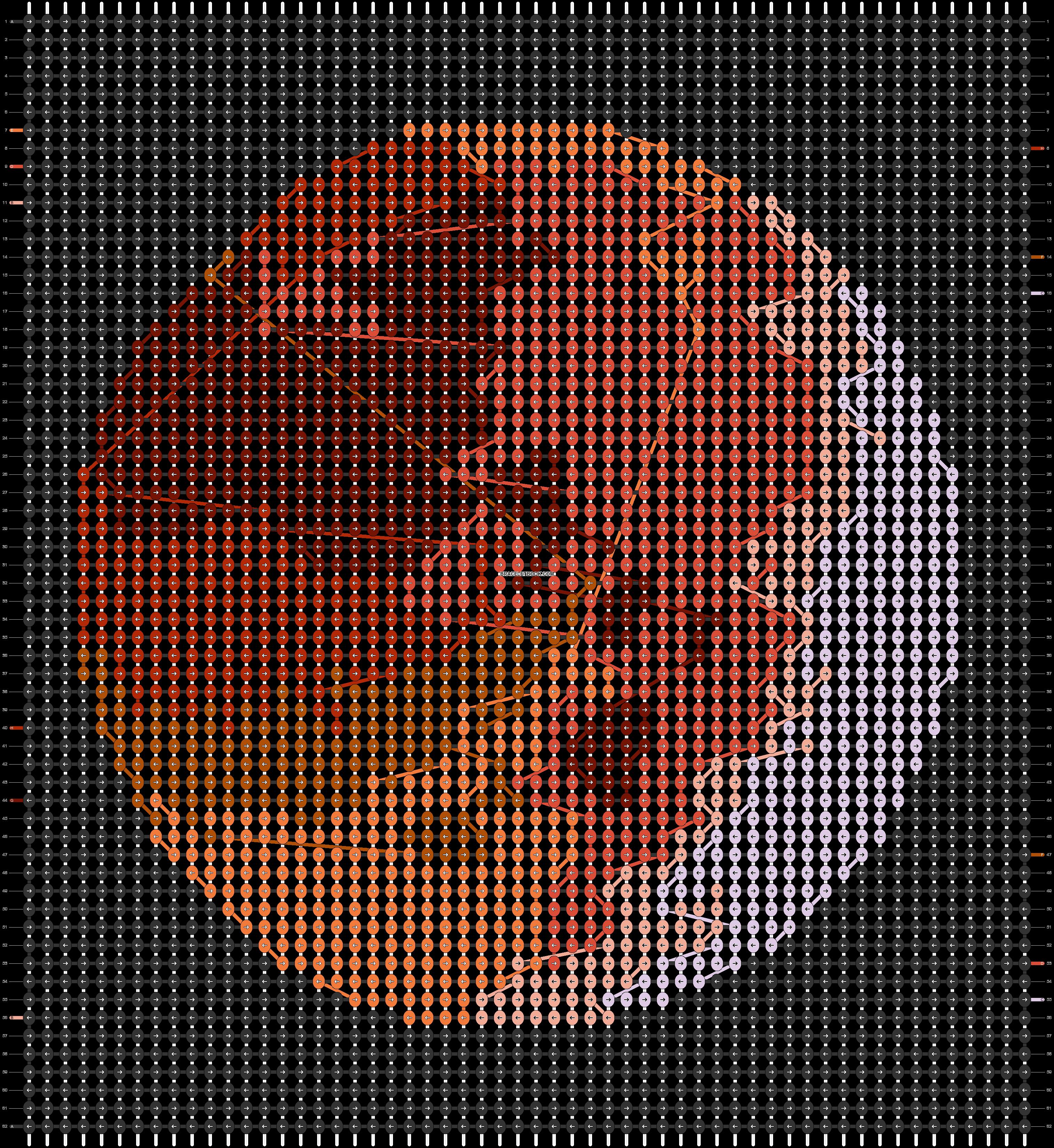 Alpha pattern #52250 pattern