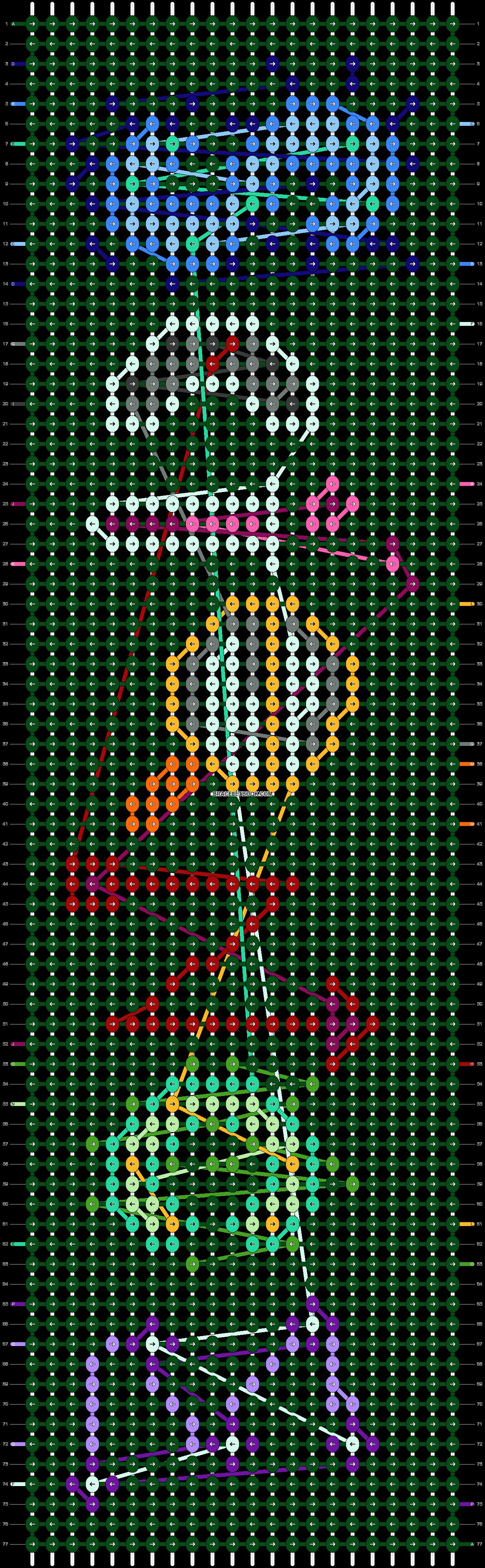 Alpha pattern #52269 pattern