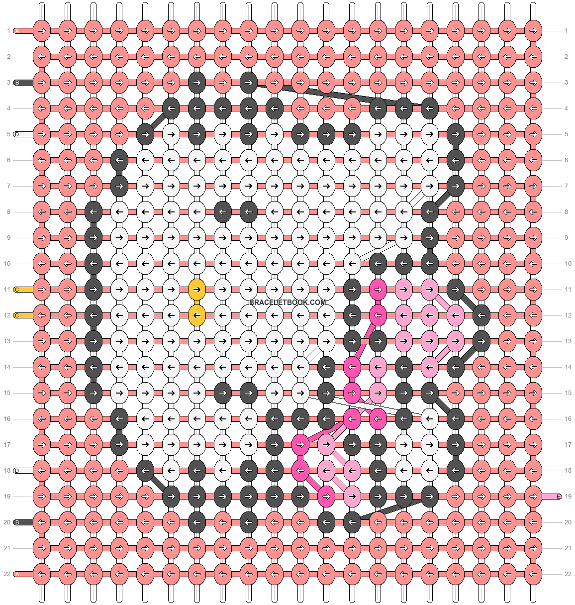Alpha pattern #52390 pattern