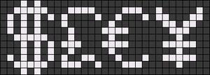 Alpha pattern #52398