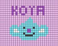 Alpha pattern #52418