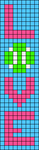 Alpha pattern #52447