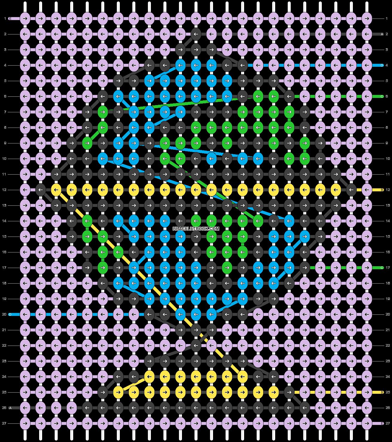 Alpha pattern #52453 pattern