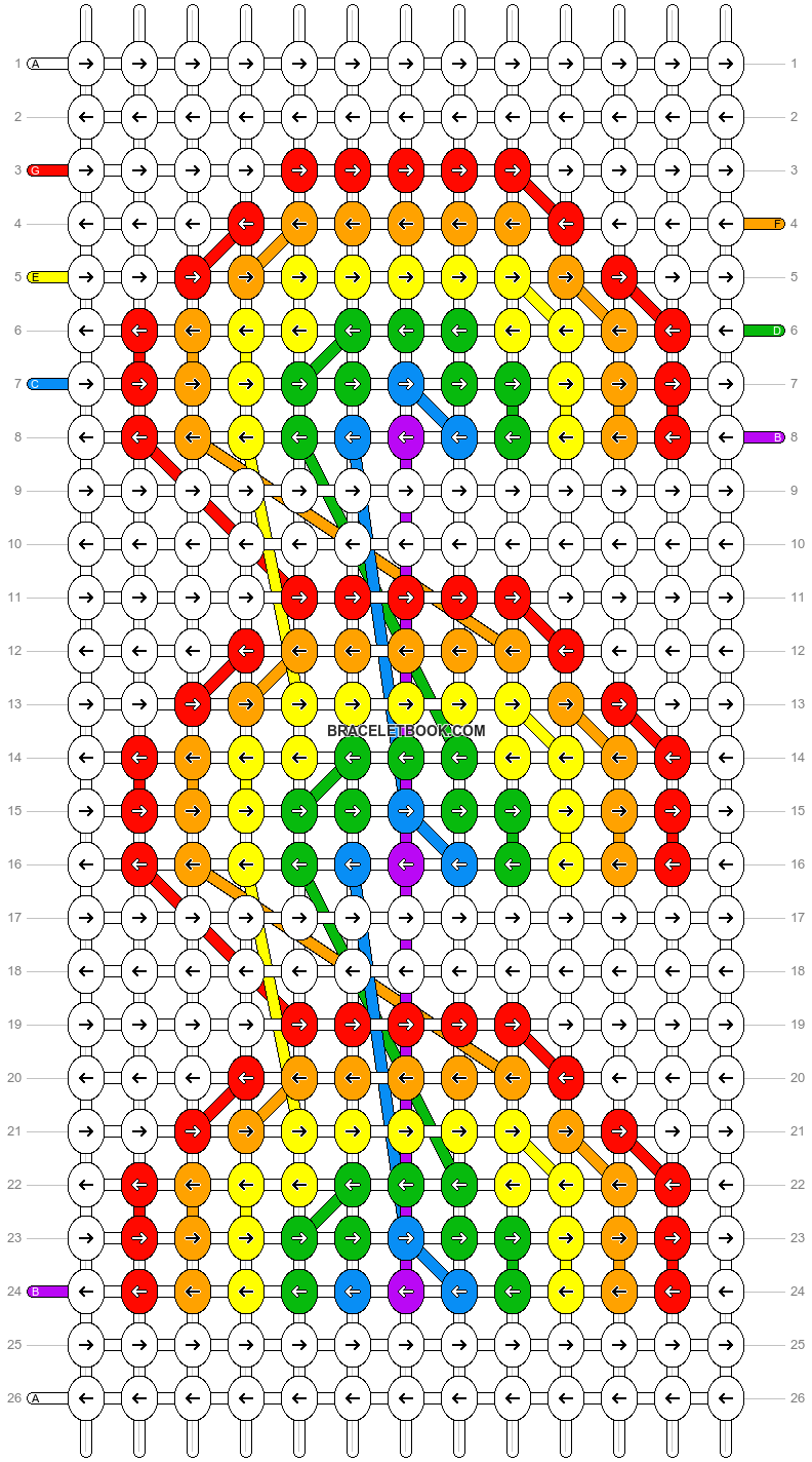 Alpha pattern #52467 pattern