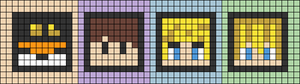 Alpha pattern #52490