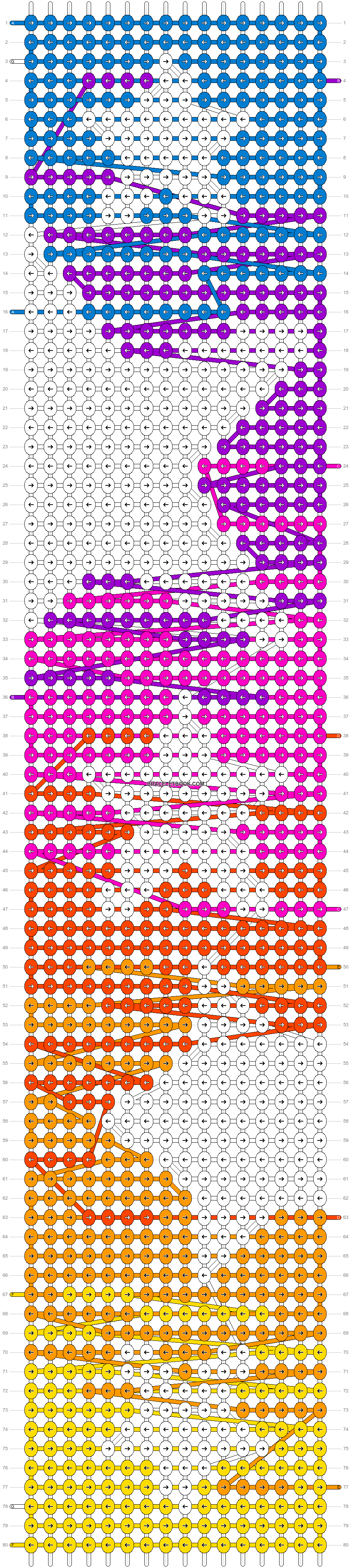 Alpha pattern #52520 pattern