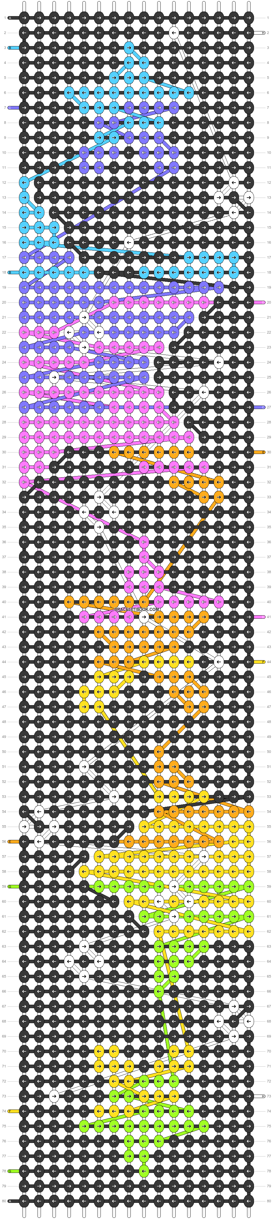 Alpha pattern #52521 pattern