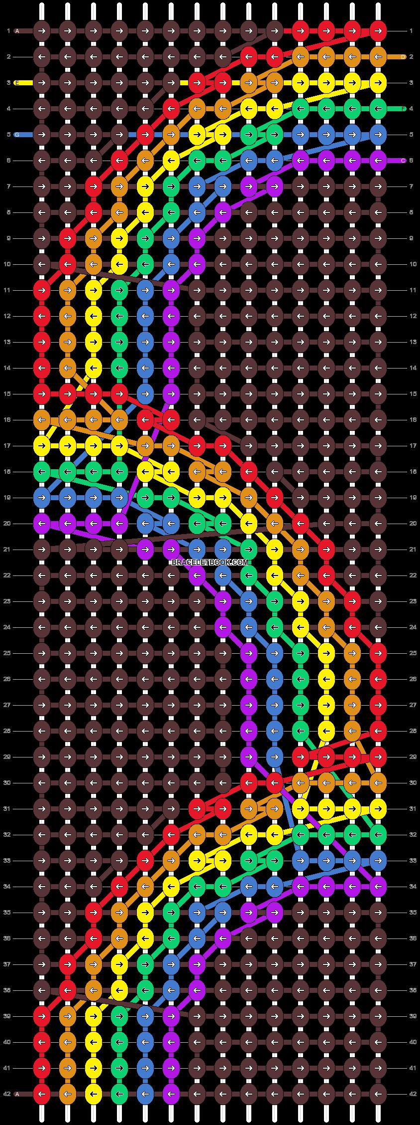 Alpha pattern #52537 pattern