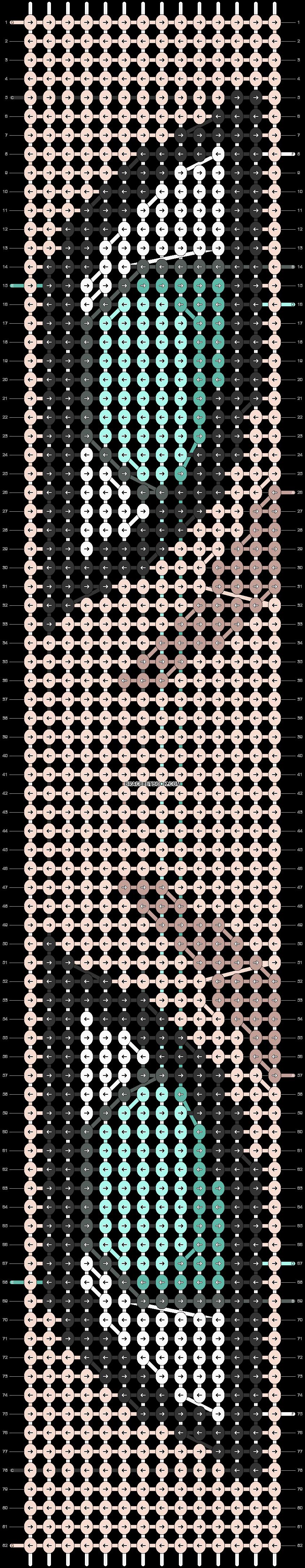 Alpha pattern #52654 pattern