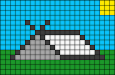 Alpha pattern #52663