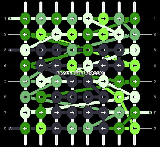 Alpha pattern #52681 pattern
