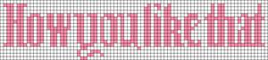 Alpha pattern #52692