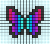 Alpha pattern #52730