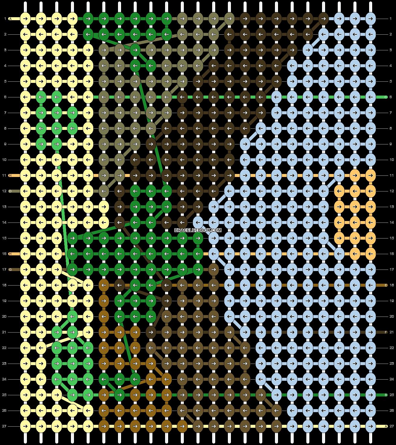 Alpha pattern #52741 pattern