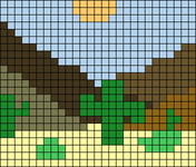Alpha pattern #52741