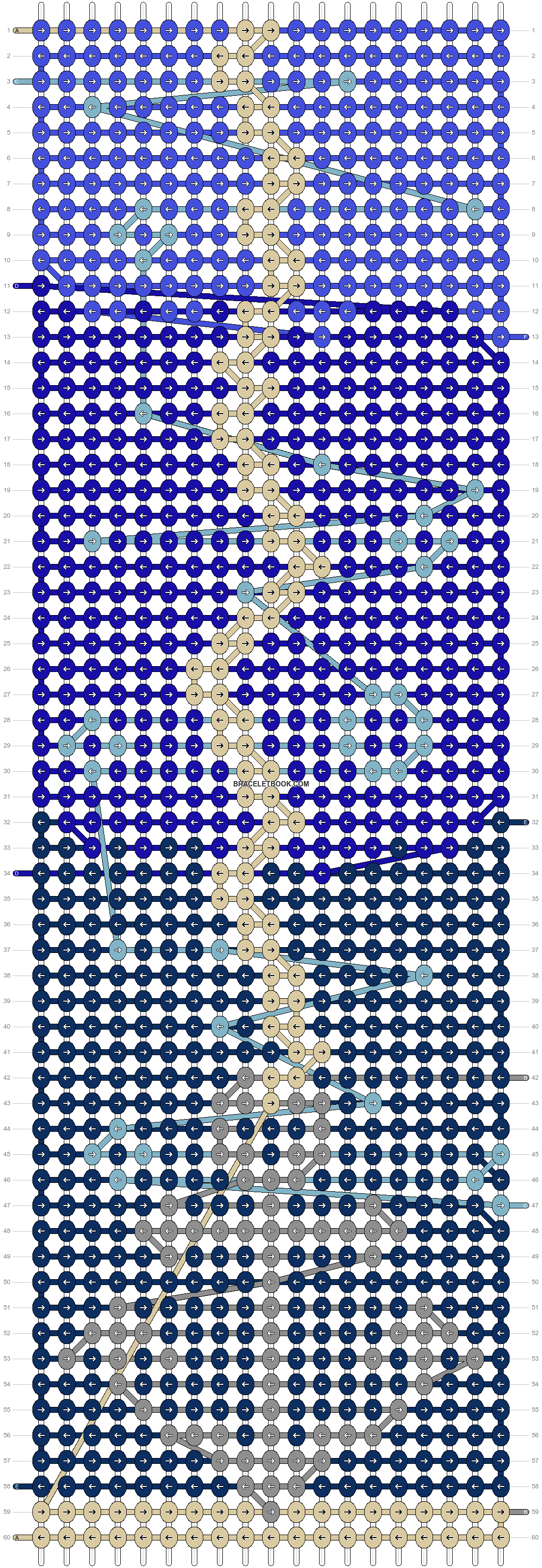 Alpha pattern #52748 pattern