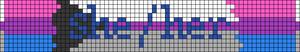 Alpha pattern #52749