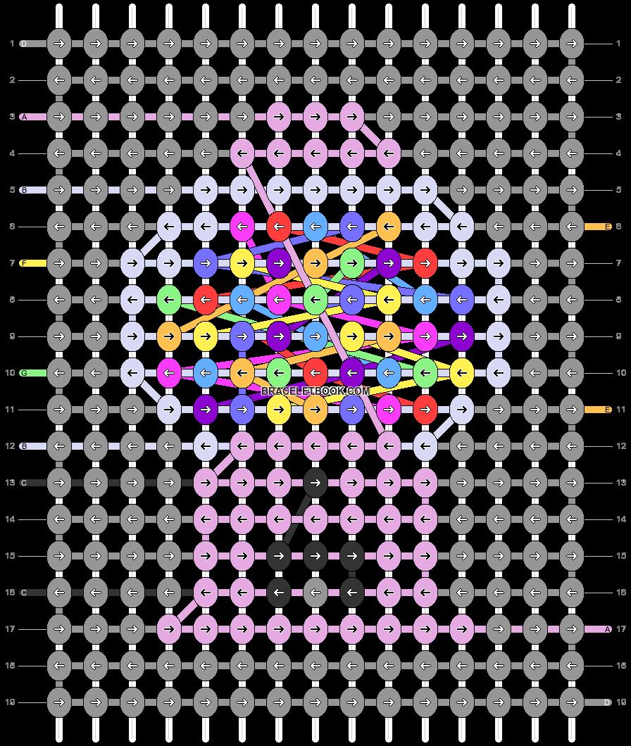 Alpha pattern #52757 pattern