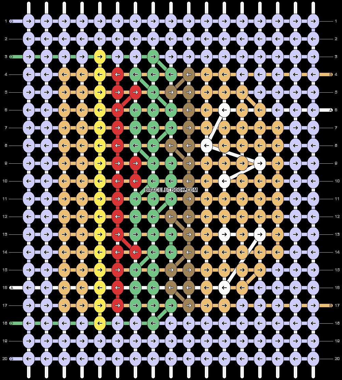 Alpha pattern #52762 pattern