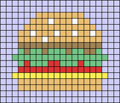 Alpha pattern #52762