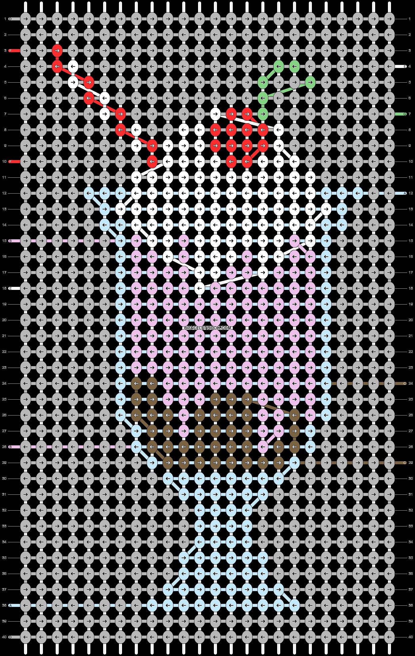 Alpha pattern #52766 pattern