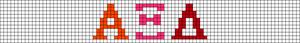 Alpha pattern #52771