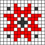 Alpha pattern #52778