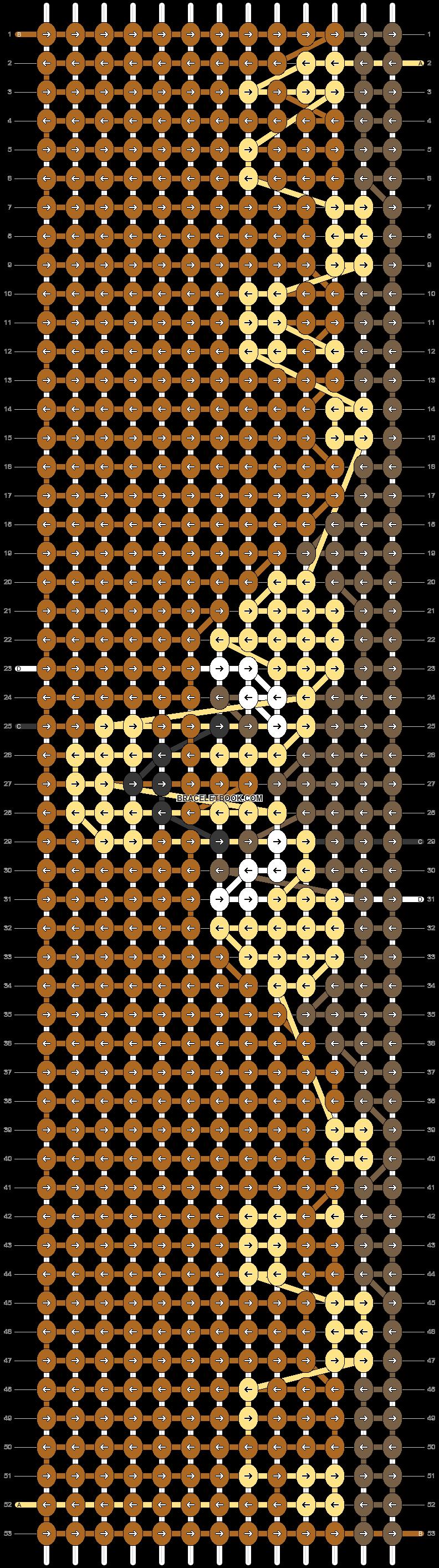 Alpha pattern #52780 pattern
