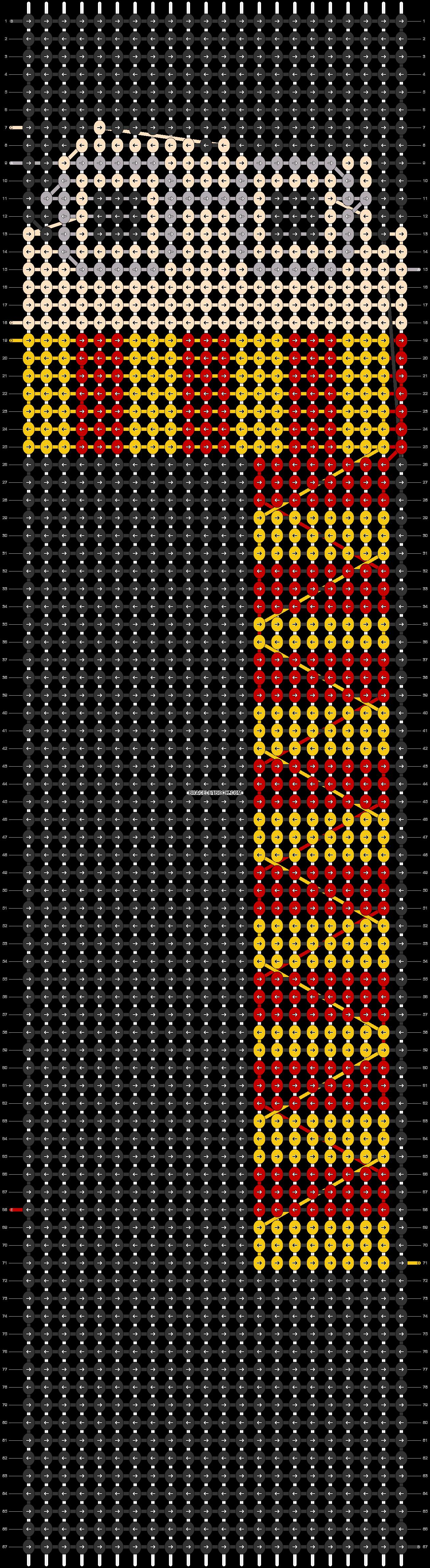 Alpha pattern #52855 pattern