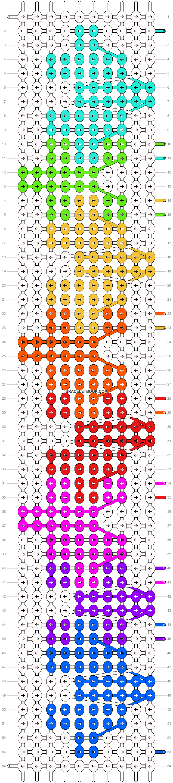 Alpha pattern #52931 pattern