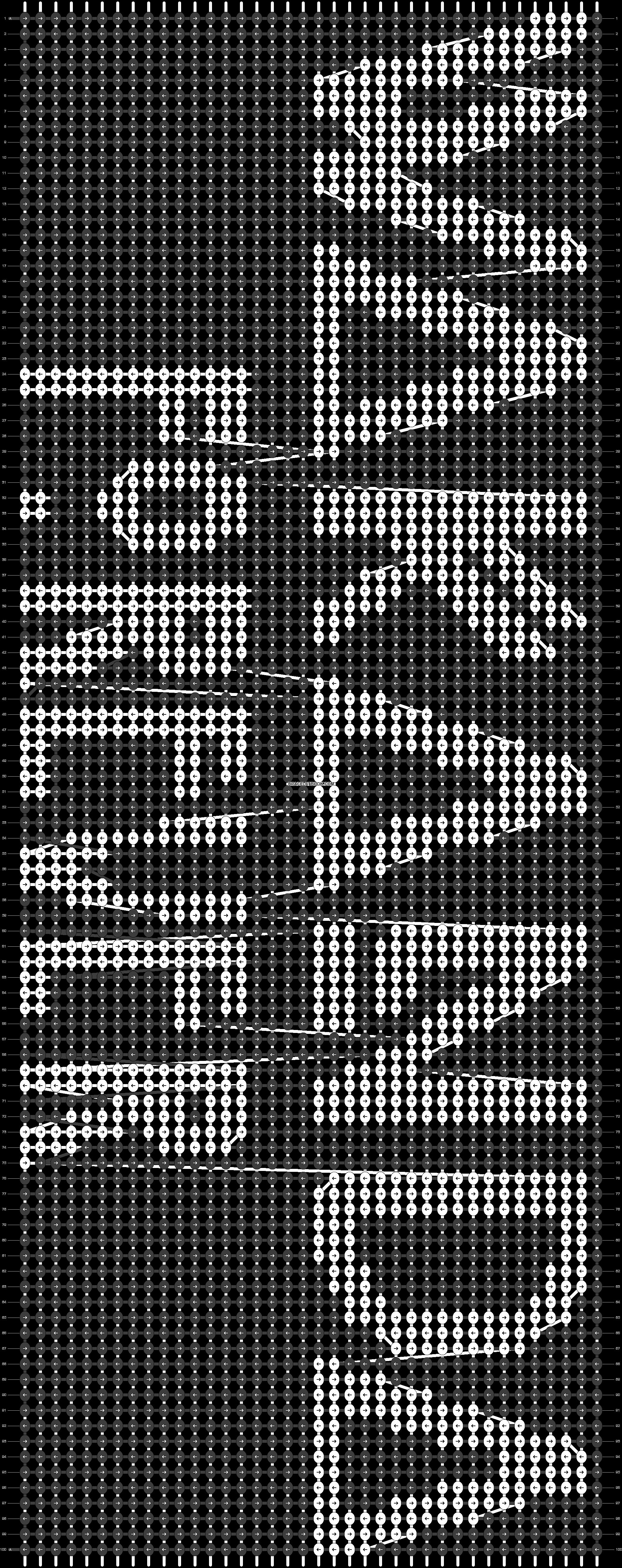 Alpha pattern #52958 pattern