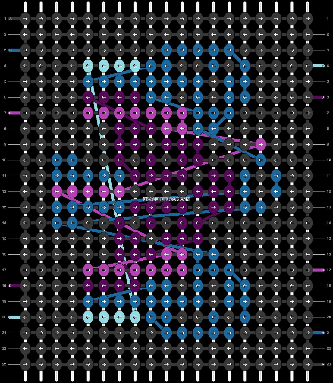 Alpha pattern #53011 pattern